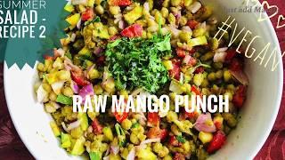 PCOS Salad | Keto Vegan diet | Green Pea Raw Mango Salad | Weight loss Salad | Keto Vegetarian