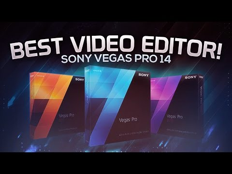 Sony/MAGIX Vegas Pro 14: Intro Maker. 3D Title Creation. Motion Tracking (2016/2017)