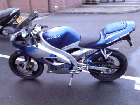 2008 Peugeot XR6 50cc motorbike with Malossi 80cc kit fitted!!!