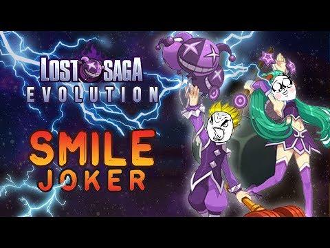Smile Joker Evolution ( Review + battle Lost Saga Indonesia )