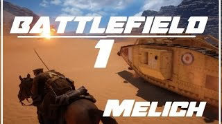 Battlefield1: WW1 Cavalry Charge!!! [ NO HUD]