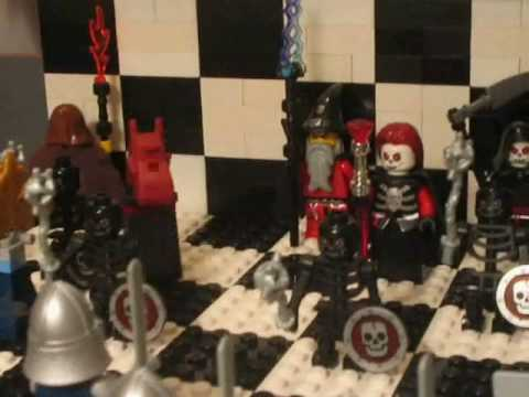Lego Knights vs. Wizard