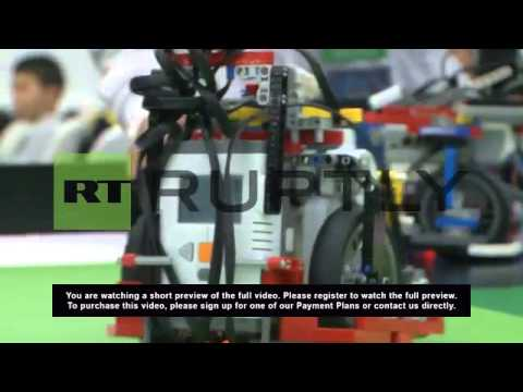 Russia: Robo-games! Watch robots compete for the Sochi Olympiad crown
