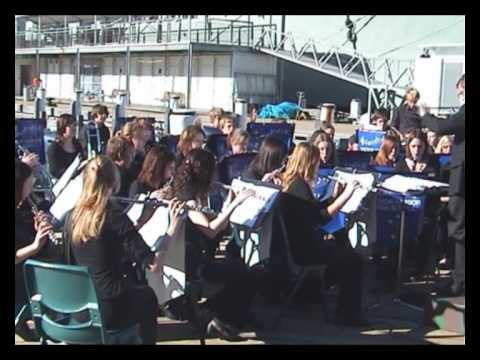 Victor Harbor High School Band --- PART 1 --- at the Maritime Museum --- Sydney 29.6.2009