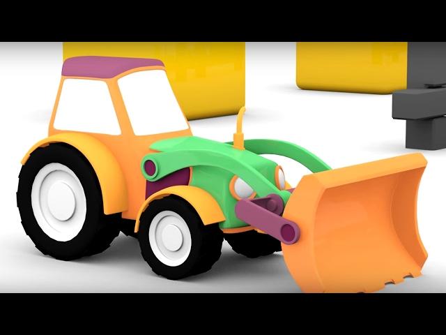 #4МАШИНКИ. Мультики для детей про машинки и Трактор! Мультфильмы для малышей. Развивающее видео