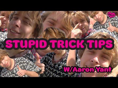 NOSE PRESS NOSE MANNY w/ AARON YANT! Stupid Trick Tips | Krux Trucks
