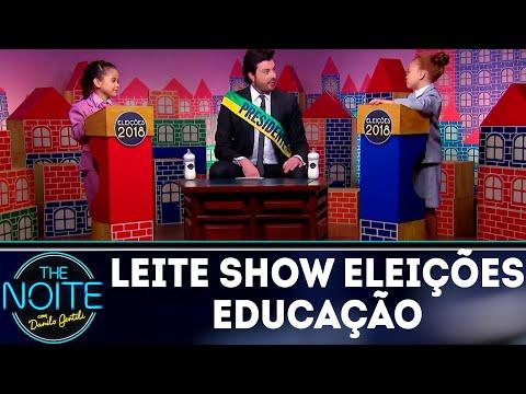 Leite Show Especial Eleições: Propostas para a Educação | The Noite (27/09/18)