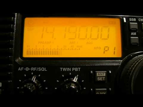 14190khz,Ham Radio HZ1TT(Saudi Arabia),16-15UTC.