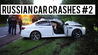 The ULTIMATE Russian Car Crash COMPILATION #2 - [2015]
