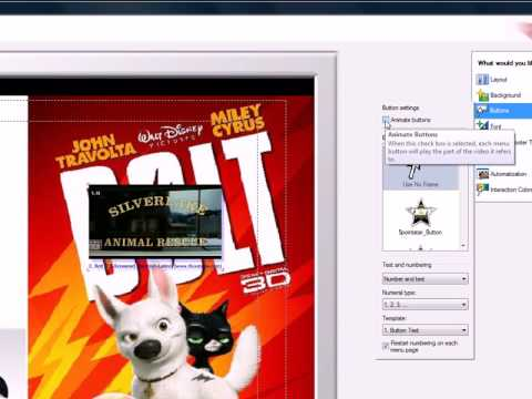 como hacer un dvd con menu en nero 7