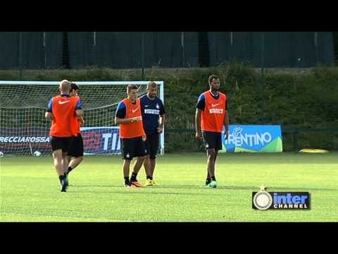 ALLENAMENTO INTER REAL AUDIO 11 09 13