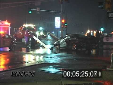 12/30/2006 Car Crash Aftermath And Rescue Footage