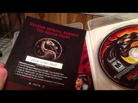 Mortal Kombat Komplete Edition PS3 unboxing HD