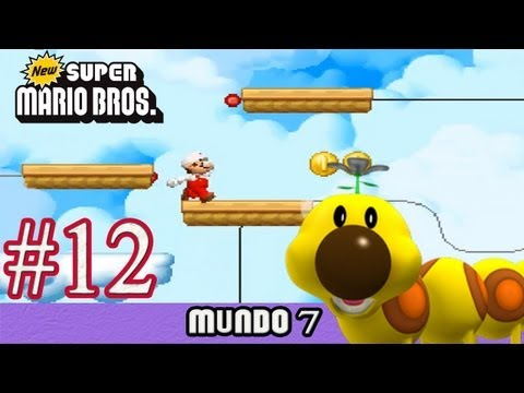New Super Mario Bros DS Español - MUNDO 7 capitulo 12