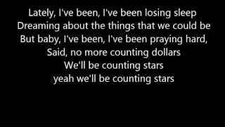 counting stars lyrics