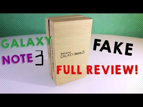 FAKE SAMSUNG GALAXY NOTE 3 ! - Best 1:1 Copy on the Market ! - Full Review [HD]