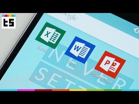 App-Test: Microsoft Word. Excel und PowerPoint für Android   TechStage