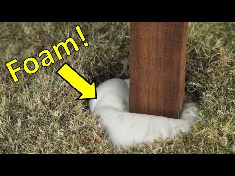 No Concrete Fence Post Install!