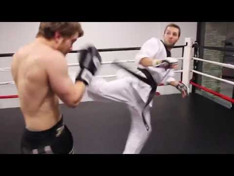 Shane Fazen vs KwonKicker - Muay Thai vs Tae Kwon Do Image 1