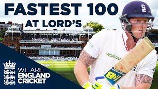 Stokes Hits Fastest Century At Lord's v New Zealand 2015 - Full Highlights