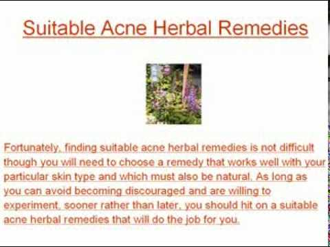 Acne Herbal Remedies Are Not Magical Solutions, But Are Worth Trying Anyway