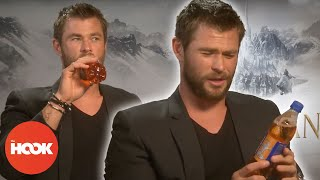 Chris Hemsworth Pulls Ridiculous Faces In Interview | FULL INTERVIEW