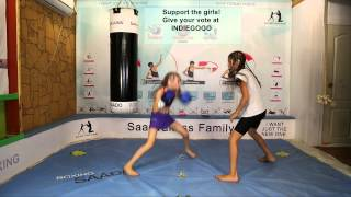 The fastest girl & 10 years old boxing coach and their STUNNING WALTZ