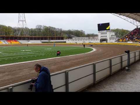 Maksym Drabik Na Otwarciu Stadionu Olimpijskiego We Wrocławiu