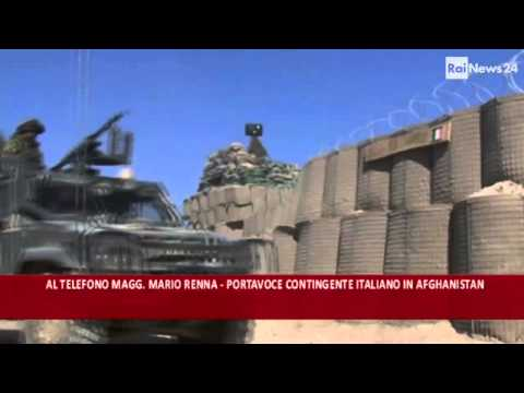Italian soldiers injured in Afghanistan March 6, 2013