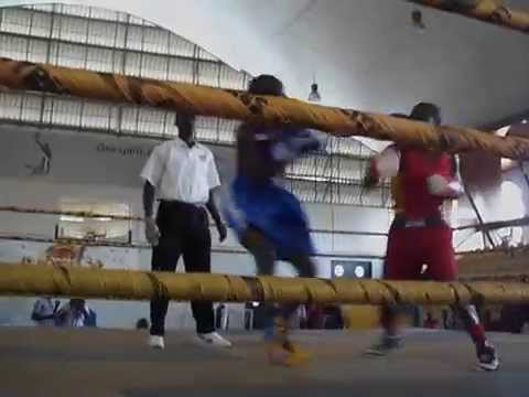 MOZY DEVILL IN RED  BOMBER boxing in uganda [from urban boxing/urban records team