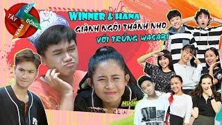 Đông Tây Nam Bắc: Hana & Winner giành ngôi thánh nhọ với trứng wasabi