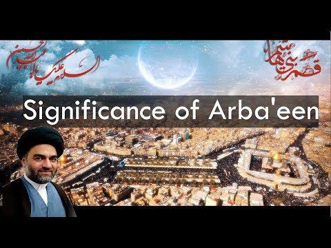 Significance of Arbaeen | Maulana Syed Ali Raza Rizvi