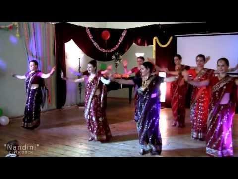 """Ансамбль индийского танца """"Nandini""""(г. Ижевск) - Dola Re"""