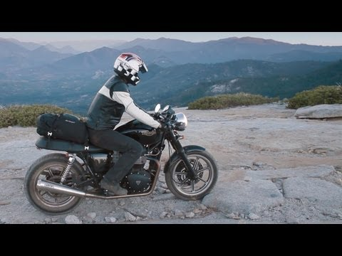 Weekend Adventuring with the Triumph Bonneville - /RideApart
