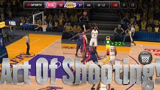 SCIENCE OF SHOOTING IN NBA LIVE MOBILE 18! HOW TO SHOOT IN NBA LIVE MOBILE 18!