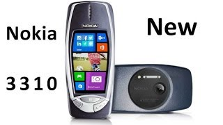 Nokia 3310 new with 41 Megapixel camera and Windows Phone 8