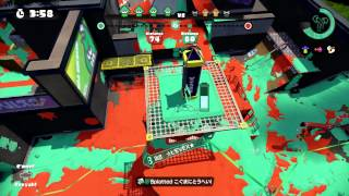 Splatoon S+ Ranked Snipes - Blackbelly Skatepark (Tower Control)