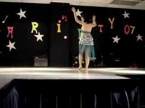 Stephanie Rubino- Hot Sexy Belly Dance video