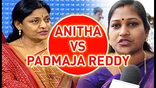 TDP MLA Anitha Open Challenge To YCP Padmaja Reddy In LIVE | #PrimeTimeWithMurthy