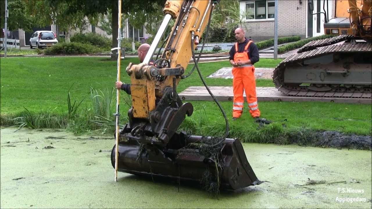 Vijver, Oling Appingedam weer schoon,Hoornstra Nieuw ... Hoornstra Nieuw Buinen