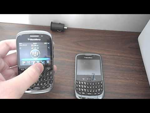 TECH REVIEW: BlackBerry Curve 9300 vs BlackBerry Curve 9320 Comparison