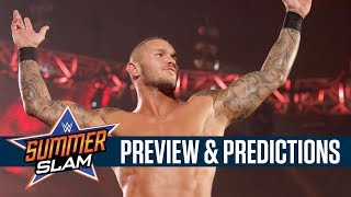 SummerSlam Preview & Predictions with Chris & Jimmy Korderas