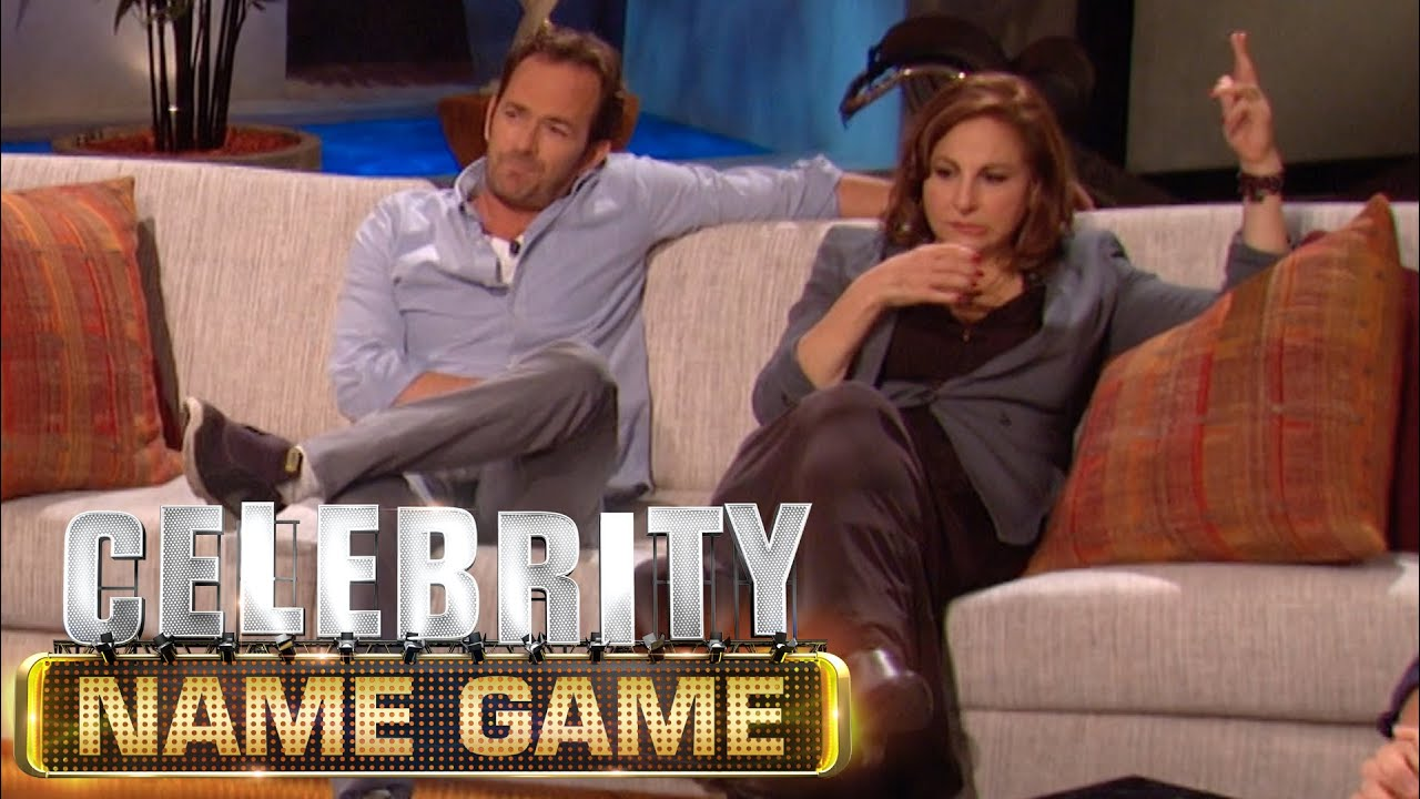 GREATEST win EVER on Celebrity Name Game!! - YouTube