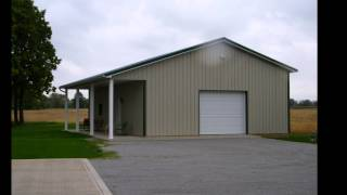 42 39 W X 80 39 L X 18 39 H Garage By Pioneer Pole Buildings