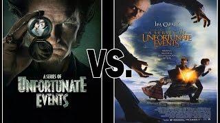 A Series of Unfortunate Events- Movie VS. Netflix Show