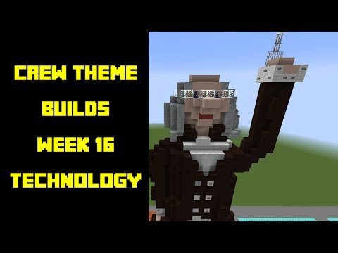 Minecraft - Your Theme Builds - Week 16 - Technology