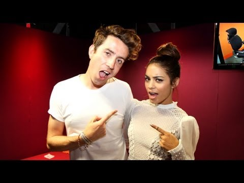 vanessa hudgens on the radio 1 breakfast show   youtube