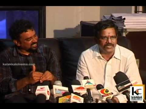 Kalaipuli S Thanu & Santosh Sivan at Urumi Movie Press Meet