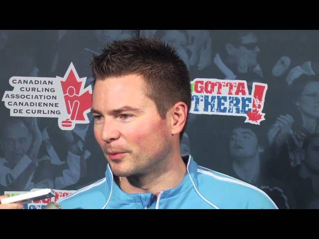 Men's Semi Final Media Scrum - 2012 Capital One Canada Cup