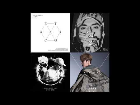 EXO (OT12) Mashup - Monster // July // Roleplay // Black White
